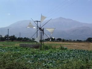 Lassithi Windmills, Crete