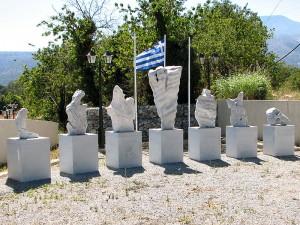 Lassithi battle monument